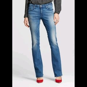 Mid-Rise Skinny Bootcut Jeans * NWT *